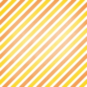 Halloween 2016: Patterned Paper 10 Candy Corn Stripes