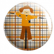 It's A Pie Time: Flair 03 Scarecrow