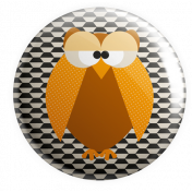 It's A Pie Time: Flair 01 Owl