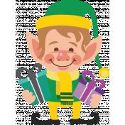 Elfie Xmas: Elfie the Elf