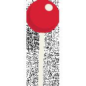 Elfie Xmas: Lollipop, Red