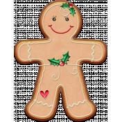 Xmas 2016: Gingergirl Cookie 01