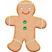 Xmas 2016: Gingerbread Man Cookie 01