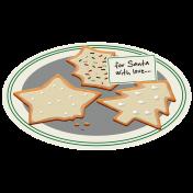 Xmas 2016: Plate of Cookies