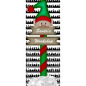 Xmas 2016: Santa's Workshop Elf Sign