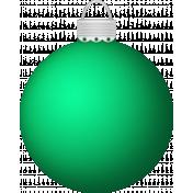 Xmas 2016: Bulb Ornament, Green