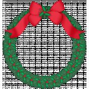 Xmas 2016: Wreath with Bow 01