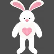 Easter 2017: Bunny 02, Felt