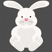 Easter 2017: Bunny 03, Felt