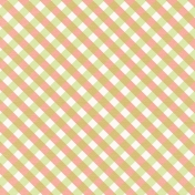 Summer Essence 2017: Patterned Paper, Gingham 01, Coral & Green