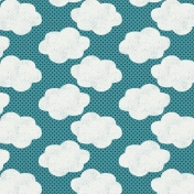 Summer Essence 2017: Patterned Paper 04 Clouds