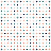 Summer Essence 2017: Patterned Paper, Diamonds 01