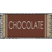 Halloween 2016: Candy 01, Chocolate Bar