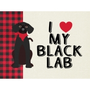 "BYB 2016: ""I Love My Black Lab"", Pocket Card 01"