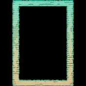 BYB 2016: Beachy 02 5x7 Cardboard Frame Torn Inked 01