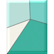 BYB 2016: Beachy 02 3x4 Stained Glass Tile 01