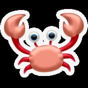 BYB 2016: Beachy Puffy Sticker Crab 01