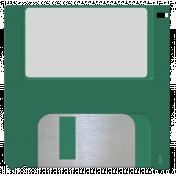 October 2020 Blog Train: Stonewashed Denim, Floppy Disk 01, Green