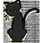 October 2020 Blog Train: Stonewashed Denim, Shadowy Cat 01, Black