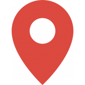 June 2021 Blog Train: Summertime Map Marker 01, Red