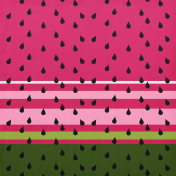 August 2021 Blog Train: Rainbow Unicorn Party Paper Watermelon 01