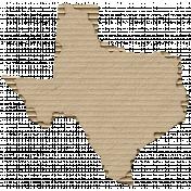 Cardboard Texas Kraft