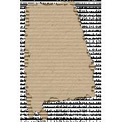 Cardboard Alabama Kraft