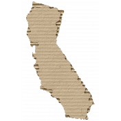 Cardboard California Kraft