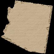 Cardboard Arizona Kraft