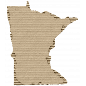 Cardboard Minnesota Kraft