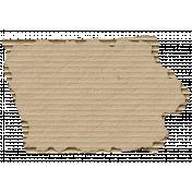 Cardboard Iowa Kraft