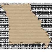 Cardboard Missouri Kraft