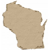 Cardboard Wisconsin Kraft