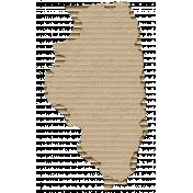 Cardboard Illinois Kraft