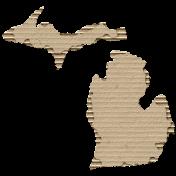 Cardboard Michigan Kraft
