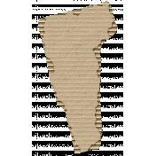 Cardboard Vermont Kraft