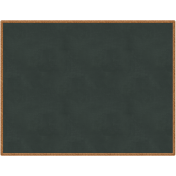 Back To School: Printable Chalkboard, Black