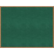 Back To School: Printable Chalkboard, Green