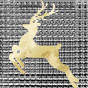 Gold Leaf Foil: Deer 03