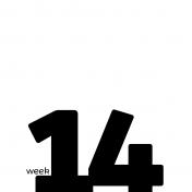 Weekly Pocket Card 4x4 14