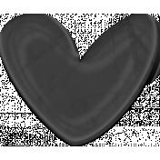 Princess Heart Black