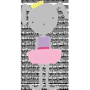 Princess Printable Bunny