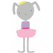 Princess Printable Bunny