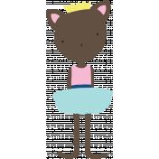 Princess Printable Cat