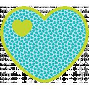Spring Fever Print Heart3