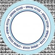 Spring Fever Print Circle 06