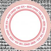 Spring Fever Print Circle 07
