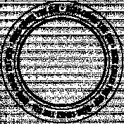 Spring Fever Text Circle Sun