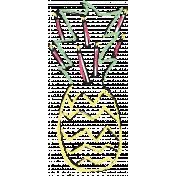 Birthday Illustration Pineapple 02