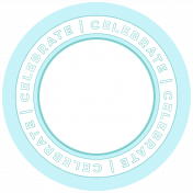 Birthday Print Word Circle9